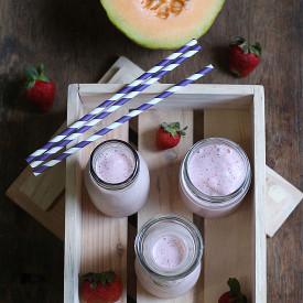 Melon Strawberry Smoothie