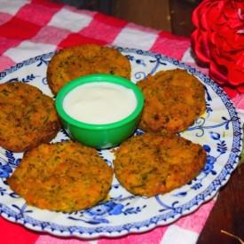 Sweet Potato & Zucchini Fritters