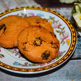 Cashew Nut Butter Shortbread Cookie