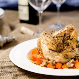 Crispy Roast Chicken & Vegetables