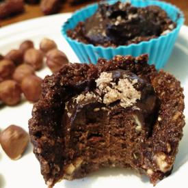 Chocolate Maple Date Hazelcups