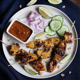 Singapore Chicken Satay