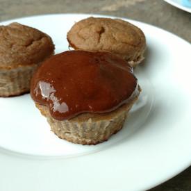 Healthy 3 Ingredient Cupcakes