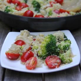 Quinoa Risotto with Broccoli