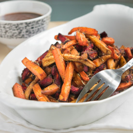 Spicy Paprika Thyme Veggie Fries