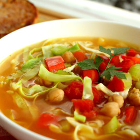 Vegetable Chickpea Soup