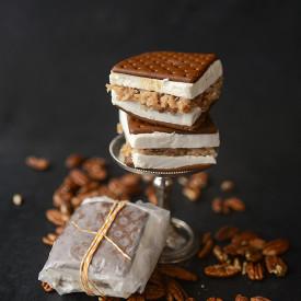 German Chocolate Ice Cream Sandwich