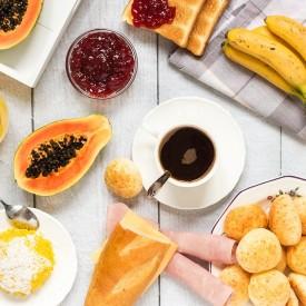Traditional Brazilian Breakfast