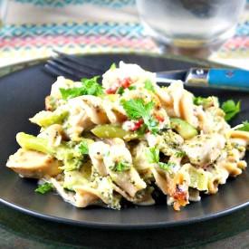 Lightened-Up Chicken Vegetable Cass