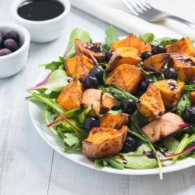 Sweet Potato Blueberry Salad