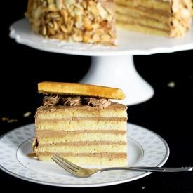 Dobos Torte – Hungarian Layer Cake