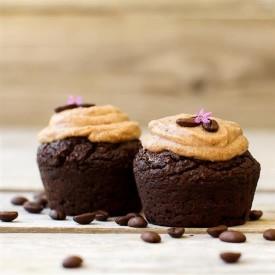 Caramel Espresso Vegan Cupcakes