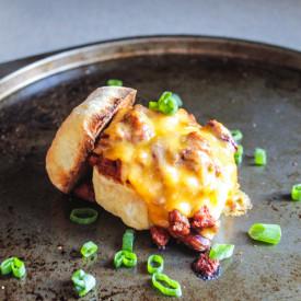Chili – Cheese Sliders