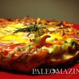 Tina's Paleo Crustless Tuscan Tart