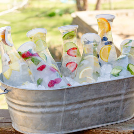 8 Infused Water Combos