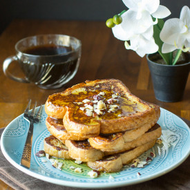 Kahlua and Cream French Toast