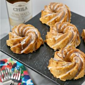 Chila 'Orchata Mini Bundt Cakes