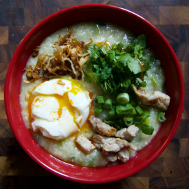 Slow Cooker Congee