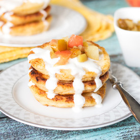 Russian Cottage Cheese Pancakes