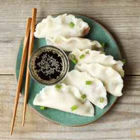 Easy Gluten Free Vegan Dumplings