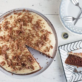 Guinness and chocolate pie