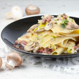 Open lasagna