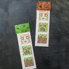 Homemade Minecraft Candy Buttons