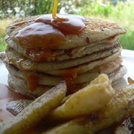 Banana Tofu Pancakes