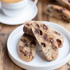 Choc chip coffee biscotti recipe