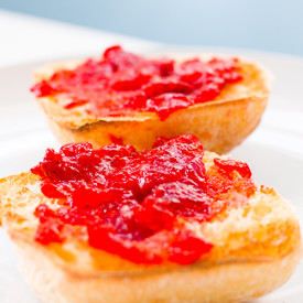 Honey Vanilla Strawberry Jam
