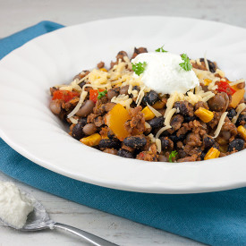 One-pot Mexican beans and mince