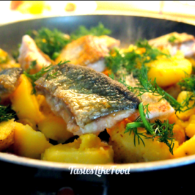 Tyrolean Arctic char with potatoes