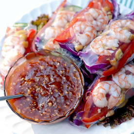 Summer Rolls & Tropical Chili Sauce