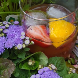 Herbed Spring Sangria