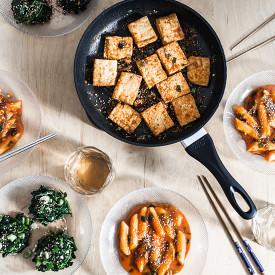Three Vegan, Korean Recipes