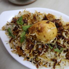 Hyderabadi Egg Biriyani Recipe
