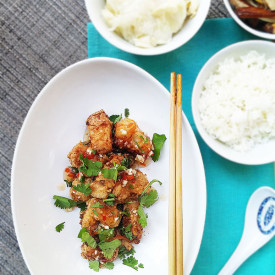 Thai chicken karaage