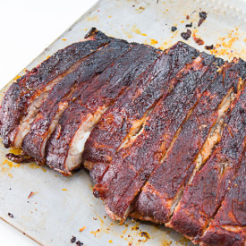 Slow Smoked Pork Spare Ribs