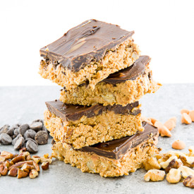 Chocolate Butterscotch Nut Bars
