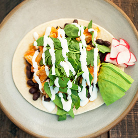 Skillet Chipotle Chicken Tacos