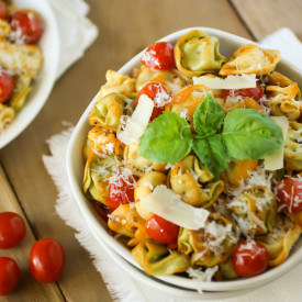 Spicy Skillet Tortellini W/ Tomato