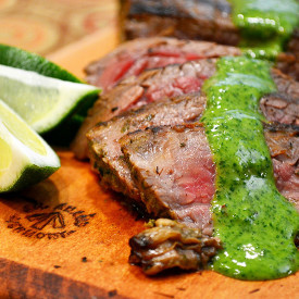 Brazilian Churrasco with Chimichurr