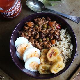 Arroz Ala Cubana Quinoa Bowl