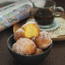 Ricotta Bombolini/Ricotta doughnut