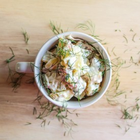 My Mother's Supreme Potato Salad