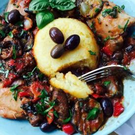 Mixed veggies chicken casserole