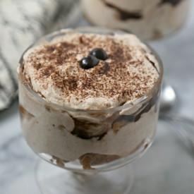 Chocolate Mocha Tiramisu Parfaits