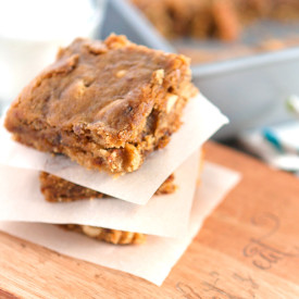 Soft and Chewy Peanut Butter Fig Bars