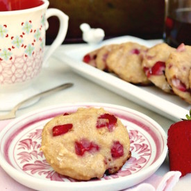 Strawberry Scones Recipe with Cocon