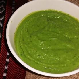Green Peas Sauce